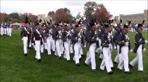 VMI Full Dress Cadet Parade