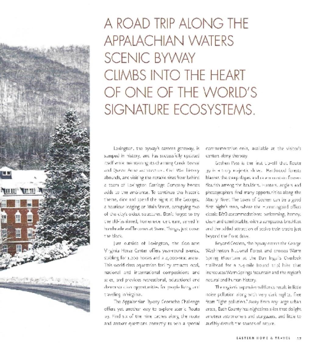 Along the Appalachian Waters Scenic Byway